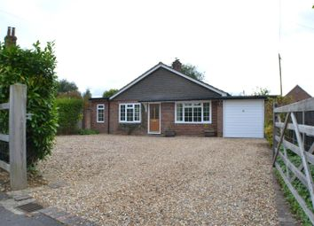 Thumbnail 3 bed detached bungalow for sale in Aldermaston Road, Pamber End, Tadley