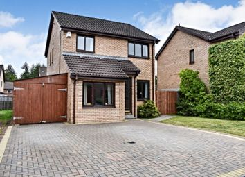 Thumbnail 3 bed detached house for sale in Robertson Way, Livingston