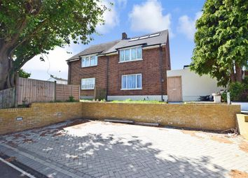 Thumbnail 4 bed semi-detached house for sale in Bourne Road, Gravesend, Kent