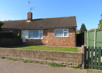 Thumbnail 1 bed semi-detached bungalow for sale in Oakwood Avenue, West Mersea, Colchester