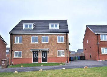 Thumbnail 3 bed semi-detached house for sale in Fleetwith Close, Middleton, Manchester