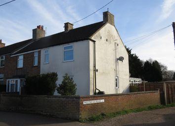 Thumbnail 3 bed end terrace house for sale in Holt Road, Fakenham