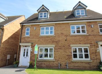 Thumbnail 4 bedroom semi-detached house for sale in Dukesfield, Shiremoor, Newcastle Upon Tyne