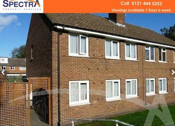 Thumbnail 2 bedroom flat to rent in Downland Close, Kings Norton