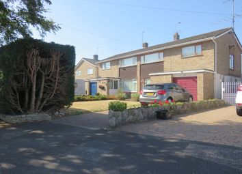 Thumbnail 3 bed semi-detached house for sale in Hamtun Crescent, Totton, Southampton
