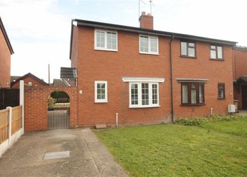 Thumbnail 3 bed semi-detached house for sale in Willow Close, St. Martins, Oswestry