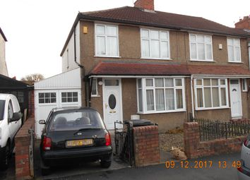 Thumbnail 4 bedroom terraced house to rent in Sandling Avenue, Bristol