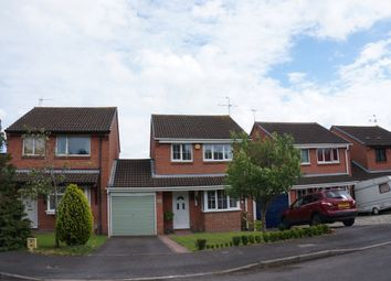 Thumbnail 3 bedroom link-detached house for sale in Rycote Close, Grange Park, Swindon