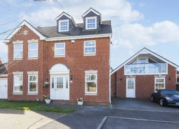 Thumbnail 5 bed detached house for sale in Chichester Close, Newport