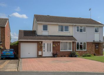 Thumbnail 4 bed semi-detached house for sale in Ashby Drive, Rushden, Northamptonshire