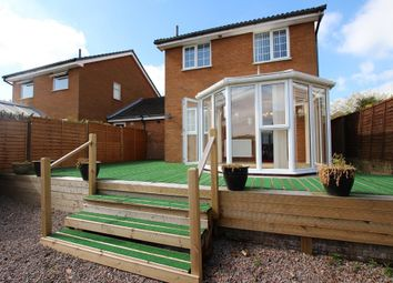 Thumbnail 3 bed link-detached house for sale in Gainsborough Drive, Lawford, Manningtree