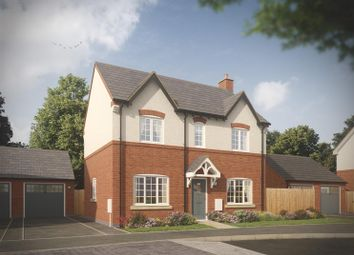 Thumbnail 3 bed detached house for sale in Bosworth Road, Measham, Swadlincote