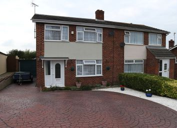 Thumbnail 3 bed semi-detached house for sale in Larksfield Crescent, Dovercourt, Harwich