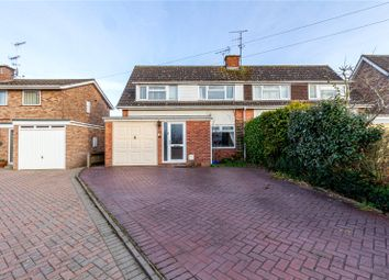 Thumbnail 3 bed semi-detached house for sale in Broadfield Crescent, Fernhill Heath, Worcester, Worcestershire