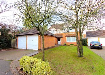Thumbnail 5 bed detached house for sale in The Huntings, Kirby Muxloe, Leicester