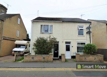 Thumbnail 3 bed semi-detached house for sale in Crown Street, Peterborough, Cambridgeshire.