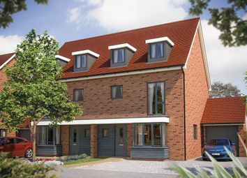 "Thumbnail 4 bed semi-detached house for sale in ""The Wimborne"" at Fields Road, Wootton, Bedford"