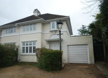 Thumbnail 3 bed semi-detached house to rent in Egham Hill, Englefield Green, Egham