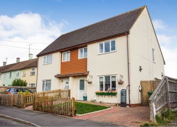 Thumbnail 3 bed semi-detached house for sale in Abbott Road, Didcot