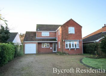Thumbnail 4 bed detached house for sale in Main Road, Filby, Great Yarmouth