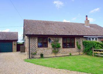 Thumbnail 2 bed semi-detached bungalow for sale in Pineways Close, Brockley, Bury St. Edmunds