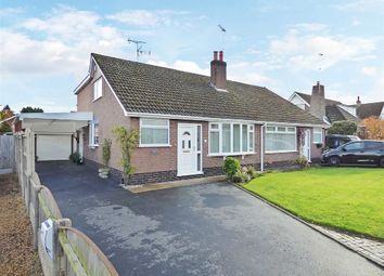 Thumbnail 3 bed semi-detached bungalow for sale in Shelley Drive, Wistaston, Crewe