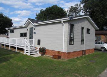 Thumbnail 2 bedroom lodge for sale in Grange Lodge Park, Straight Road, East Bergholt