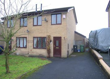 Thumbnail 2 bed semi-detached house to rent in Pinewood Drive, Accrington
