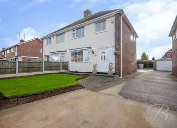 Thumbnail 3 bedroom semi-detached house for sale in Rushpool Avenue, Mansfield Woodhouse, Mansfield
