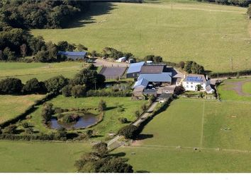 Thumbnail 4 bed farmhouse for sale in Lydacott, Barnstaple, Devon.