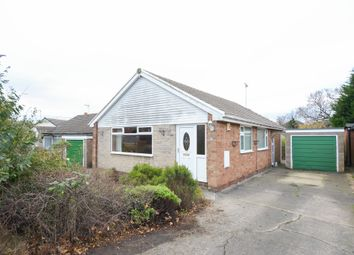 Thumbnail 3 bed detached bungalow for sale in Clifton Avenue, Barlborough, Chesterfield