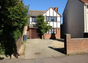 Thumbnail 4 bed detached house to rent in Goldington Road, Bedford