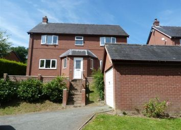 Thumbnail 4 bed detached house for sale in 2, Glan Y Nant, Aberhafesp, Newtown, Powys