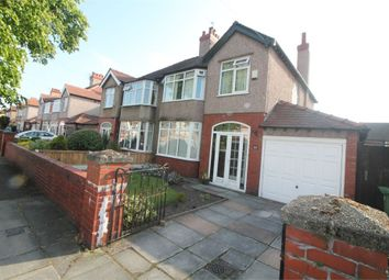 Thumbnail 3 bed semi-detached house for sale in Brentwood Avenue, Crosby, Liverpool, Merseyside