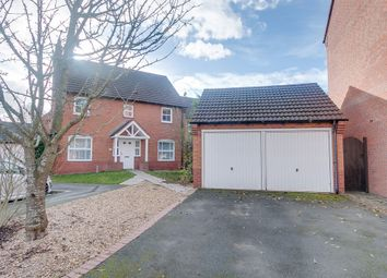 Thumbnail 4 bed detached house for sale in Rosedale Close, Redditch