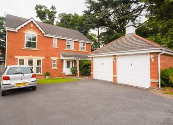 Thumbnail 4 bed detached house for sale in The Firs, Syston, Leicester