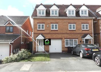 Thumbnail 4 bed semi-detached house for sale in Kendal Road, Kirkby, Liverpool
