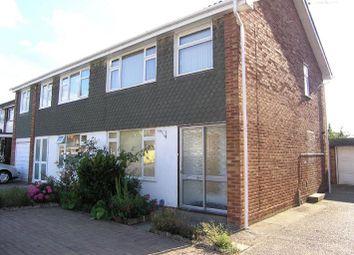 Thumbnail 3 bed semi-detached house to rent in Ash Road, Three Bridges, Crawley