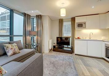 Thumbnail 3 bedroom flat to rent in Merchant Square, London
