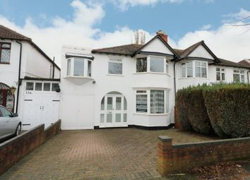 Thumbnail 4 bed semi-detached house for sale in Brooklands Road, Hall Green, Birmingham