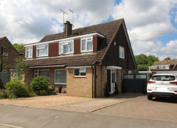 Thumbnail 3 bed semi-detached house for sale in Trinity Road, Old Wolverton, Milton Keynes