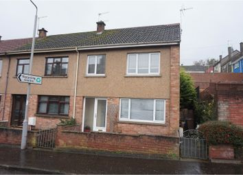 Thumbnail 2 bed end terrace house for sale in Ladywell Road, Maybole