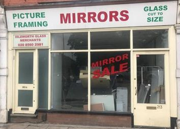 Retail premises to let in 213 Twickenham Road, Isleworth, Middlesex TW7