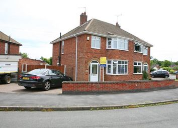 Thumbnail 3 bed semi-detached house for sale in Armson Avenue, Kirby Muxloe, Leicester, Leicestershire