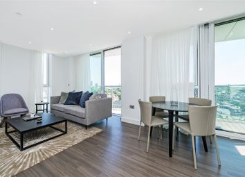 Thumbnail 2 bed flat for sale in Pinto Tower, Nine Elms Point, 4 Hebden Place, London