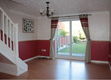 Thumbnail 2 bedroom end terrace house to rent in Yarrow Close, Thetford