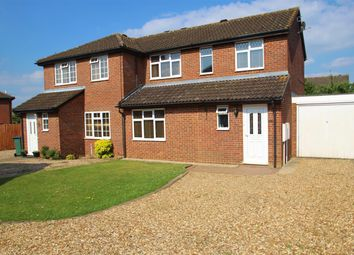 Thumbnail 3 bed semi-detached house to rent in Deerfield Close, Buckingham