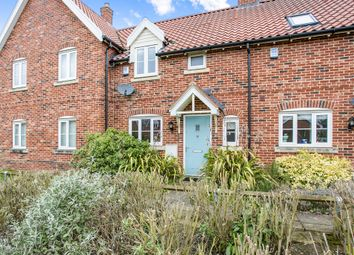 Thumbnail 2 bed terraced house for sale in Bell Meadow, Hingham, Norwich