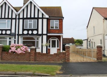 Thumbnail 3 bed semi-detached house for sale in Seathorne Crescent, Skegness