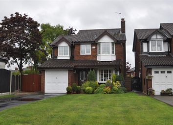 Thumbnail 3 bed detached house for sale in Bramhall Close, Dukinfield